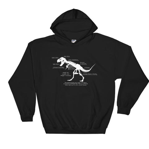 T-rex Facts | Hooded Sweatshirt