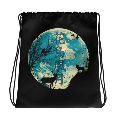 The Beauties Of Nature | Drawstring Bag