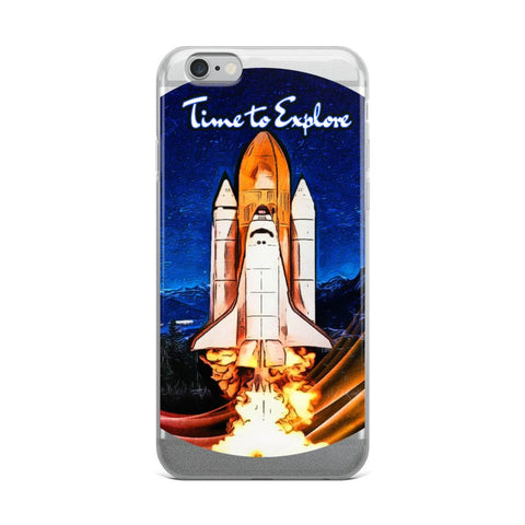 Time To Explore | IPhone Case
