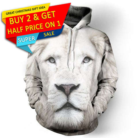 3D Lion Men/Women Hoodies