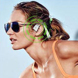 Bluetooth Bone Conduction Earphones for Safe Cycling