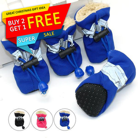 Waterproof Winter Dog Shoes
