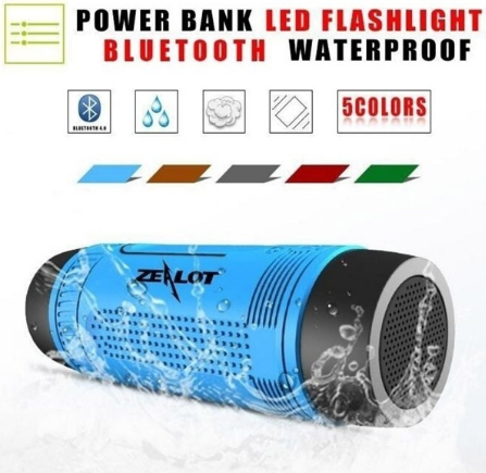 Waterproof Bluetooth Speaker 7 in 1 (ideal for cycling, hiking & group sports)