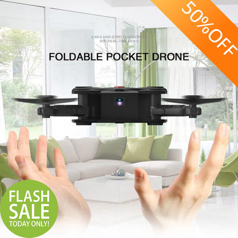 Mini WiFi FPV Foldable Drone