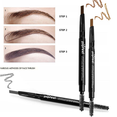 Double-end Automatic Eyebrow Pencils