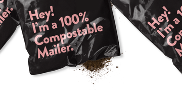 New Biodegradable mailer packaging