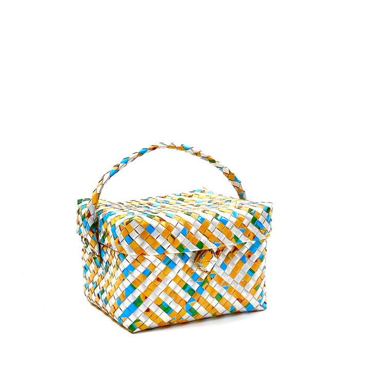 Lunch or Cosmetic Box - Curacao Stripes - AgentSpécial