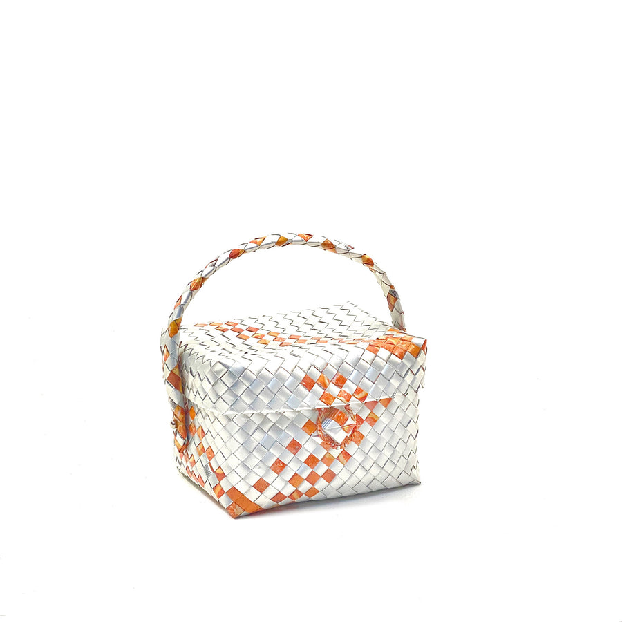 Small Lunch or Cosmetic Box - Terracotta Glam - AgentSpécial