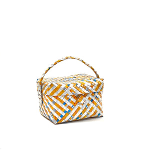 Small Lunch or Cosmetic Box - Stripes - AgentSpécial