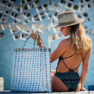 Shopper / Beach Bag XL - Nude - AgentSpécial