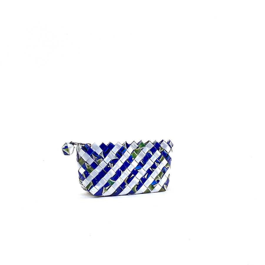 Cosmetic Pouch Mini - Saphir Stripes