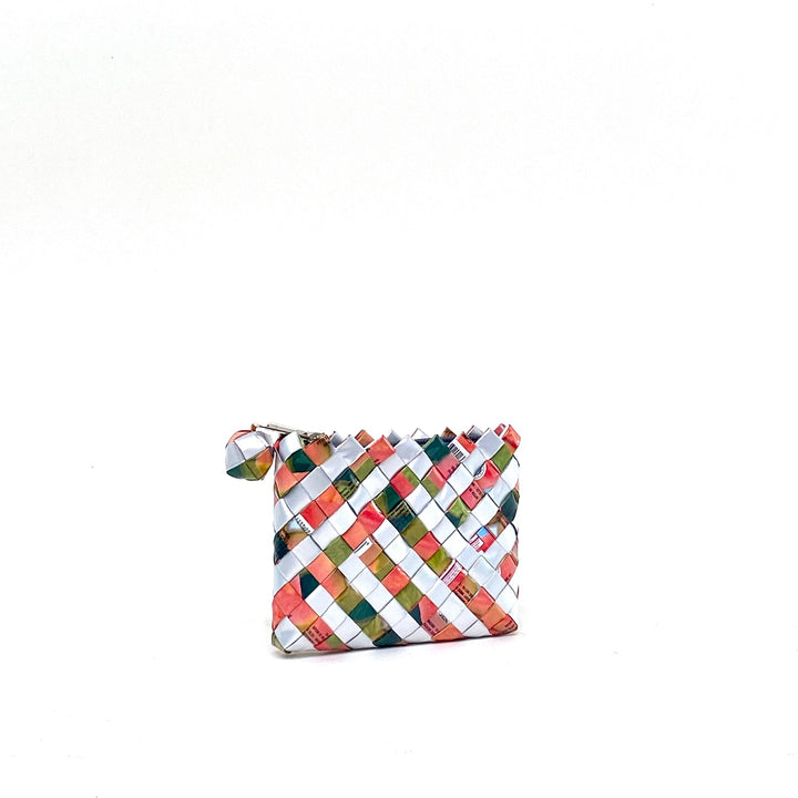 Coin Purse - Litchi Stripes - AgentSpécial
