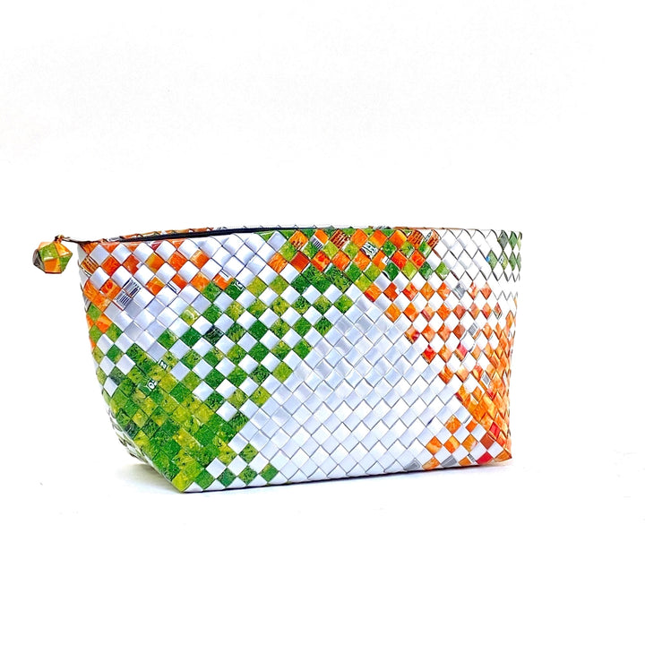 Cosmetic Pouch Large - Jungle Beat Glam