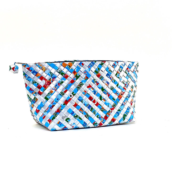 Trousse de toilette tressée XL- Stripes 05