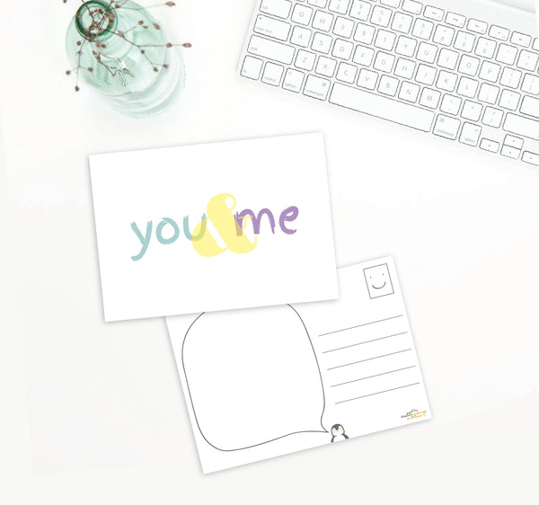 Postcard - You and me