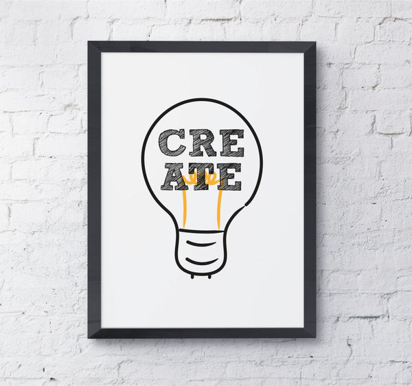 Lightbulb create