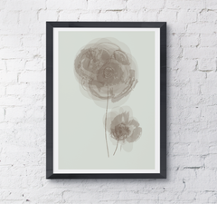 watercolour flower mother dream plant wallart home print poster