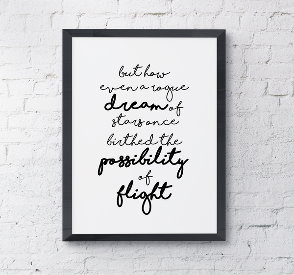Quote Rogue Dream