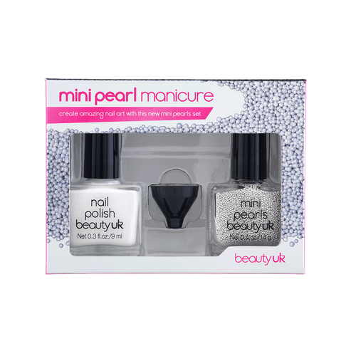 MINI PEARL MANICURE SET - WHITE