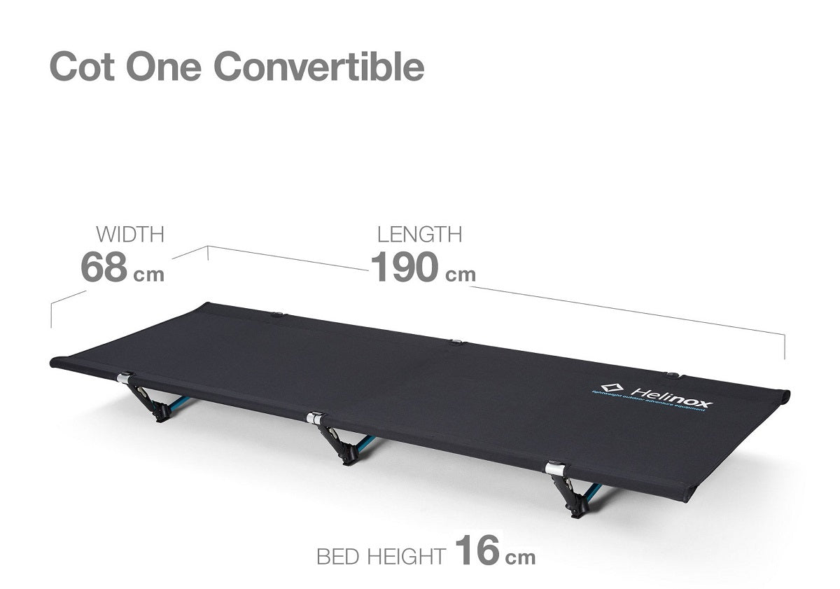 Helinox Cot One Convertible overview
