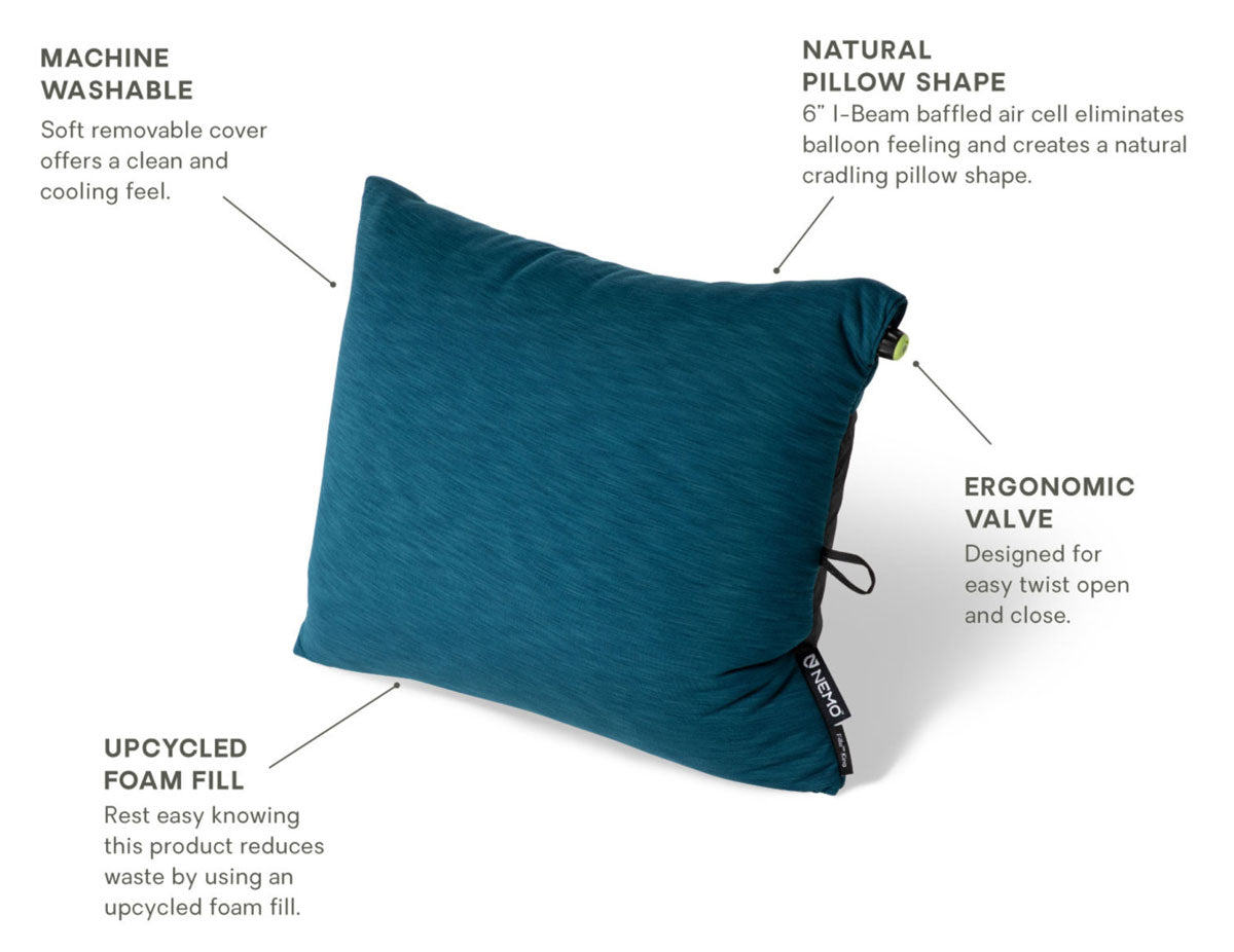 NEMO Fillo pillow features overview