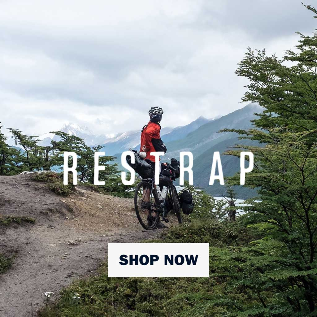 Restrap bikepacking bags on WildBounds