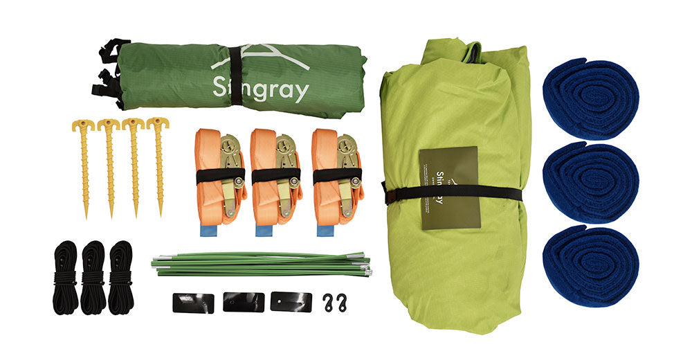 Tentsile Stingray - What's in the box