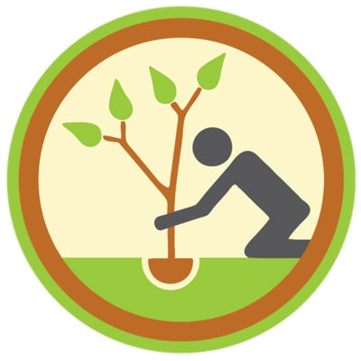 WildBounds eco credential, Manufactured Sustainably via planting trees
