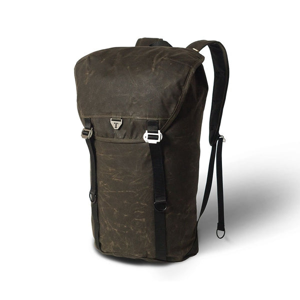Trakke - Assynt 28 » Waxed Canvas Backpack - Olive Backpack