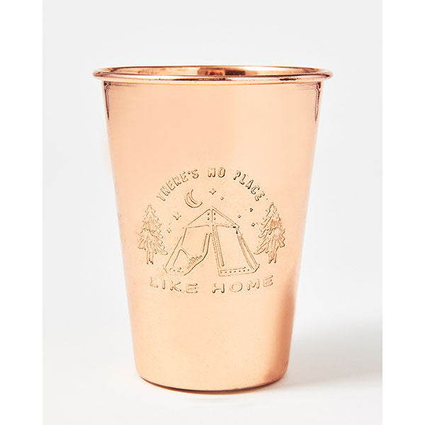 United By Blue » 16 oz Copper Tumbler - No Place Like Home