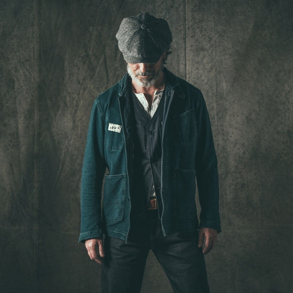 &SONS Crafter Chore Jacket » Mens Chore Jacket - Denim Chore Coat