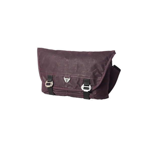 Trakke - Bairn Mk2 » Waxed Canvas Messenger Bag, Purple Messenger Bag