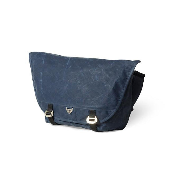 Trakke - Wee Lug Mk2 » Waxed Canvas Messenger Bag, Navy Messenger Bag