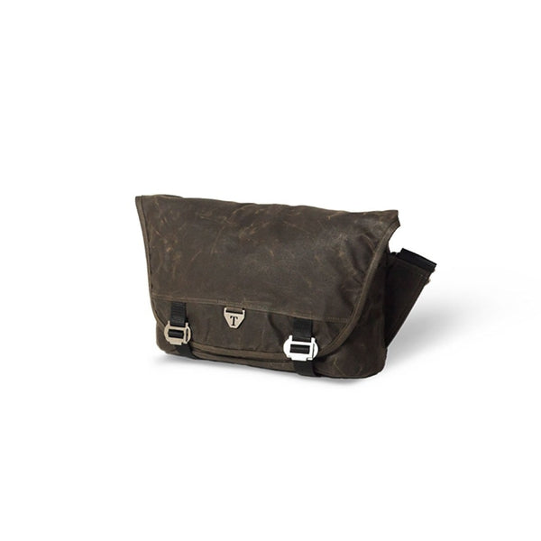 Trakke - Bairn Mk2 » Waxed Canvas Messenger Bag, Olive Messenger Bag