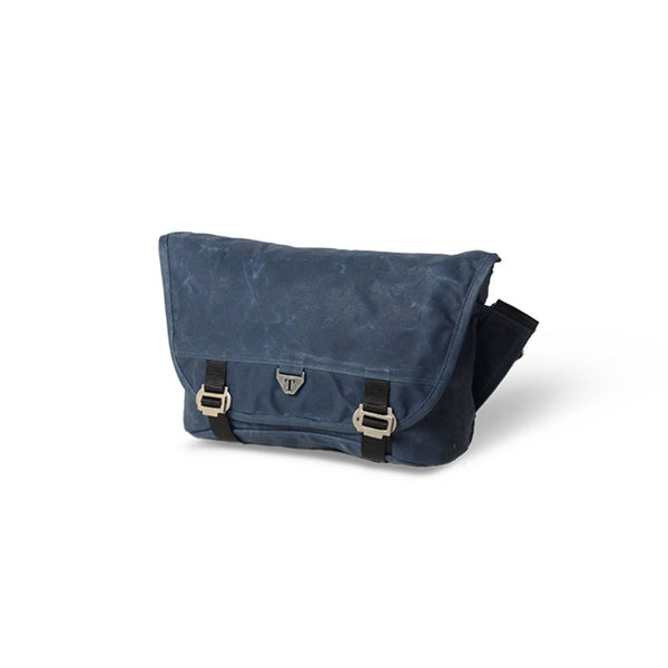Trakke - Bairn Mk2 » Waxed Canvas Messenger Bag, Navy Messenger Bag
