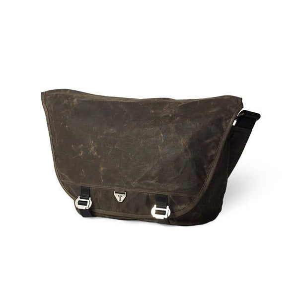 Trakke - Wee Lug Mk2 » Waxed Canvas Messenger Bag, Olive Messenger Bag