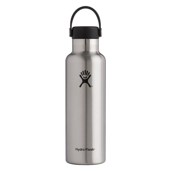 Hydro Flask - 21 oz Standard Mouth » Insulated Water Bottle - Stainless
