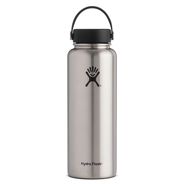 Hydro Flask - 40 oz Wide Mouth » Insulated Water Bottle - Stainless