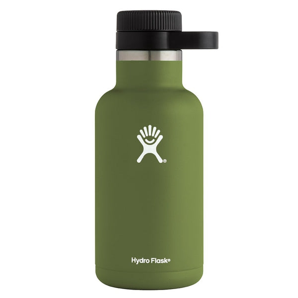 Hydro Flask - 64 oz Growler » Insulated, Stainless Steel Beer Growler - Olive