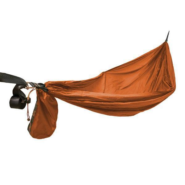 Amok Segl, Light, extra long, wide-gathered hammock, Rusty Red, 211.C