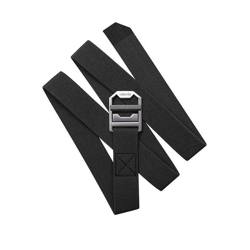Arcade Belts | Guide Slim Utility Belt | Adventure Belt | Black