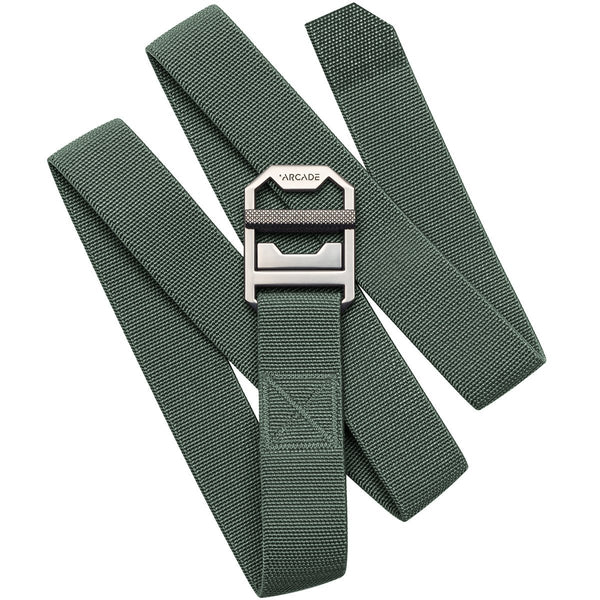 Arcade Belts - Guide Slim Utility Belt - Expedition Ready - Ivy Green