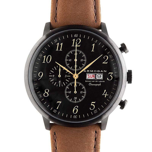 Armogan | Spirit of St. Louis | Chocolate Brown | Men's Heritage Watch