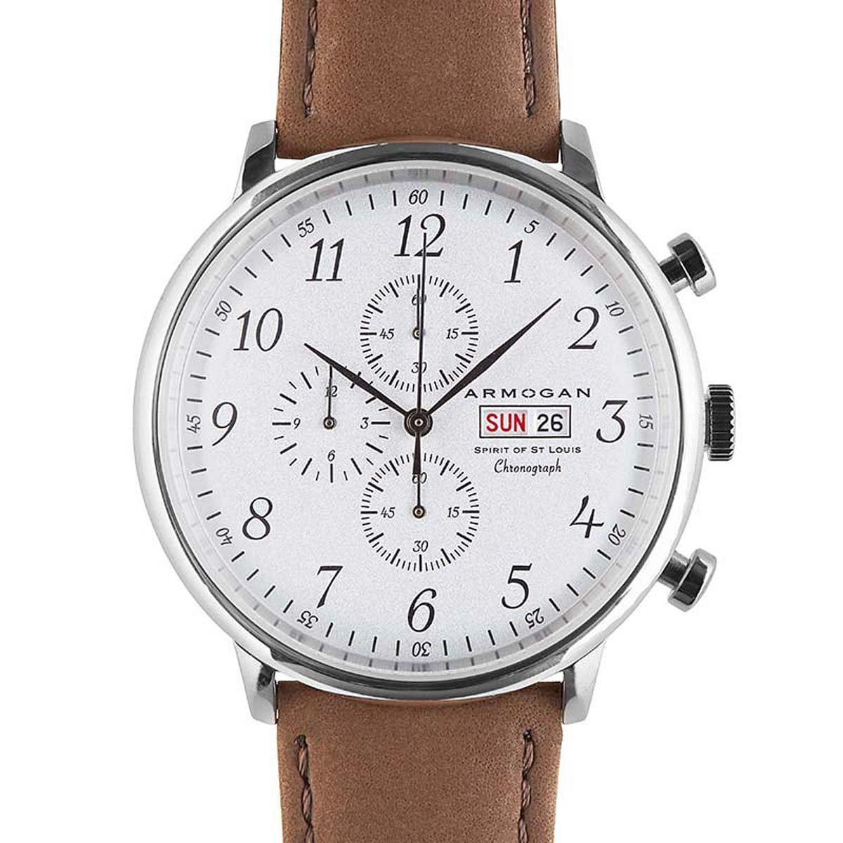 Armogan | Spirit of St. Louis | White Chocolate | Men's Heritage Watch
