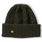 BBCOCAOG003, BBCo, Cabin Beanie, Olive, Fisherman Beanie | Knitted Hat