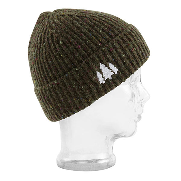 BBCo » Docker Beanie - Caragh | Fishermans Wool Hat | Made in Britain - Brown