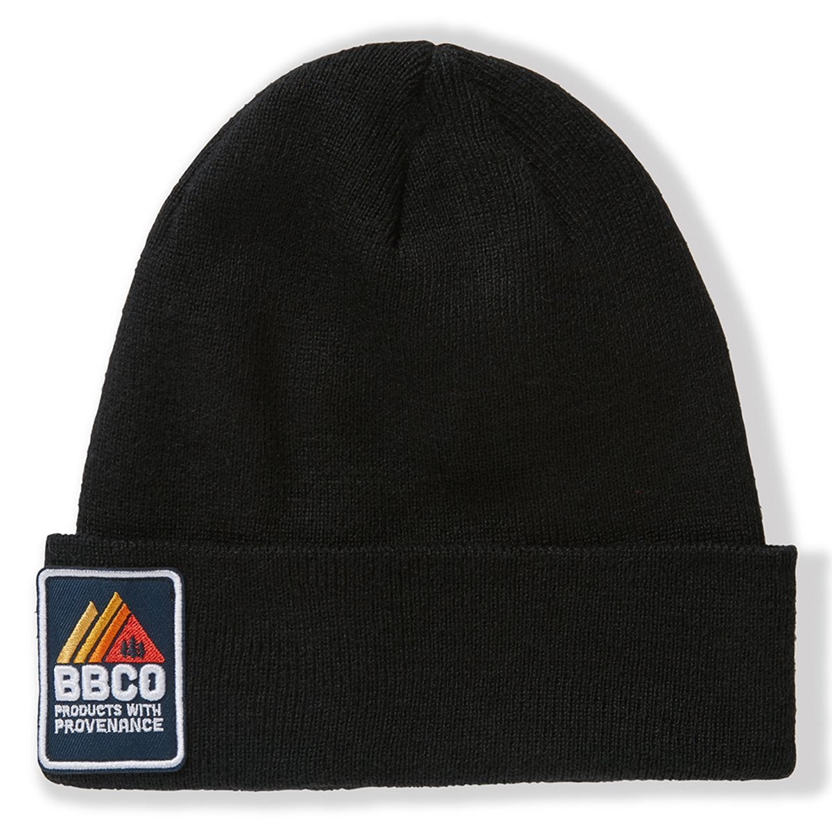 BBCOPOL001, BBCo, Essentials Beanie, Black, Fisherman Beanie | Knitted Hat