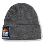 BBCOPOL003, BBCo, Essentials Beanie, Grey Marle, Fisherman Beanie | Knitted Hat