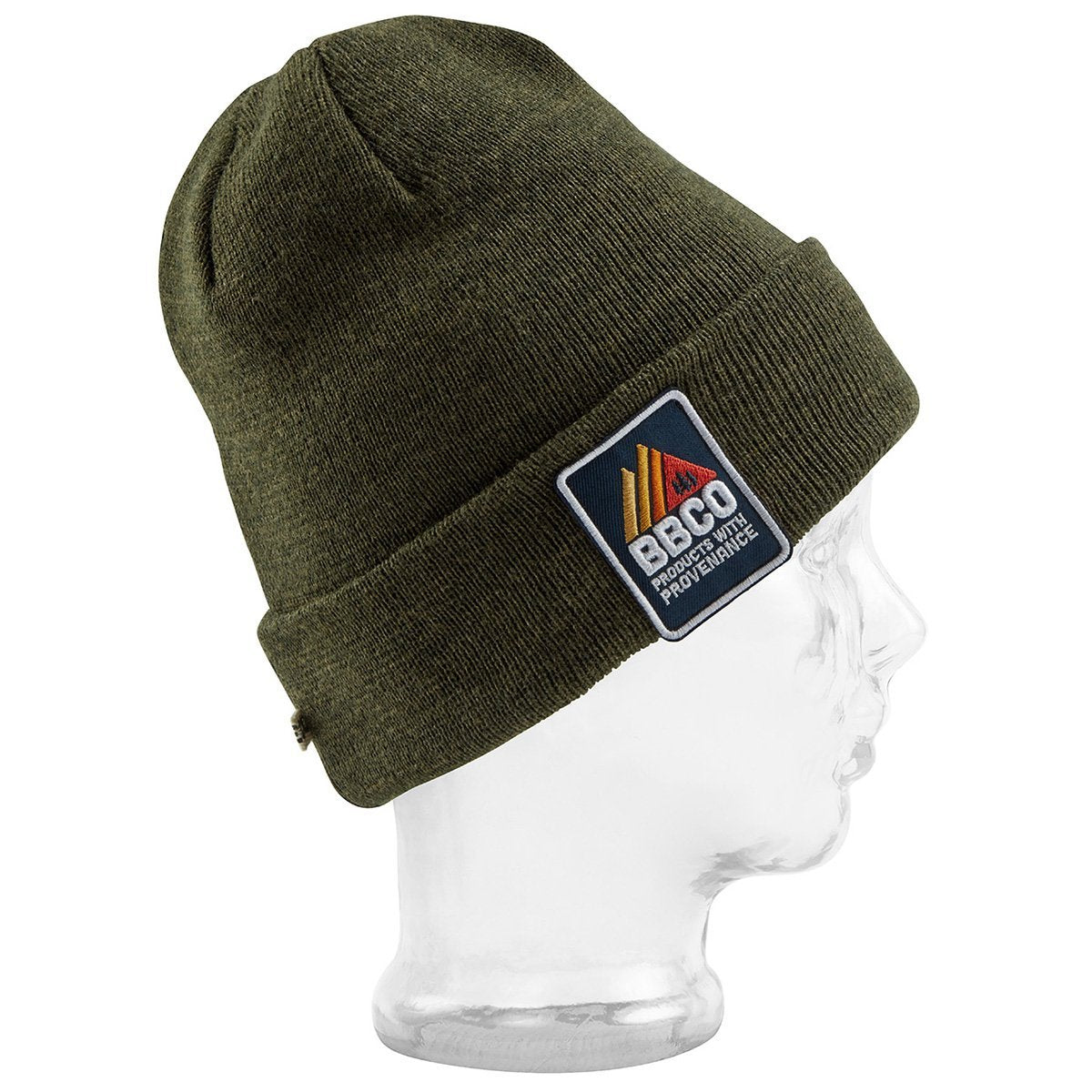 BBCOPOL006, BBCo, Essentials Beanie, Khaki, Fisherman Beanie | Knitted Hat
