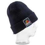 BBCOPOL005, BBCo, Essentials Beanie, Navy, Fisherman Beanie | Knitted Hat